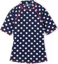 Boden Short Sleeve Rash Vest Sailor Blue Spot Boden, A sporty rash vest with short sleeves so you can feel the sun on your skin while youre tackling the surf. http://www.comparestoreprices.co.uk//boden-short-sleeve-rash-vest-sailor-blue-spot-boden-.asp