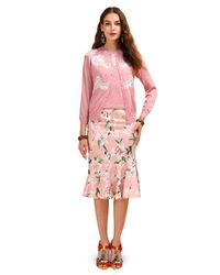 Pink Trumpet Mermaid Skirt Two Pieces Set $87.00