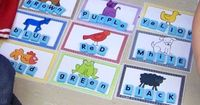brown bear color words