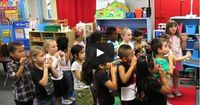 """""""Outside Voices Inside Voices"""" is a wonderful classroom management song to help children learn the use of their outside inside voices. Free resource!"""