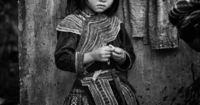 Hmong girl, sapa valley vietnam