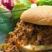 I made this tonight with Boca Crumbles instead of ground beef. I used 1/2 C ketchup & 1/4 C BBQ sauce instead of 3/4 C ketchup. Also added 2 celery stalks, 1 tsp worcestershire, 2 tsp white vinegar, 1-2 Tb tomato paste, and a pinch of red pepper flake...
