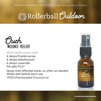Wound Relief Rollerball Blend