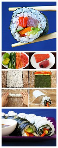 Get restaurant-quality sushi at home -- for a fraction of the price! Plus, it's totally easy and fun! You will love this How To Make Sushi (At Home!) recipe!