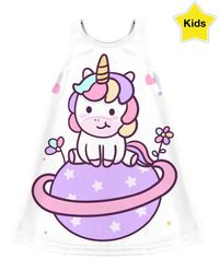 Unicorn Planet Kids Dress $50.00