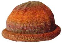 Free Knitting Pattern: Family Rolled Brim Hat