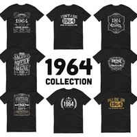 1964 Birthday Gift, Vintage Born in 1964 t-shirt, 56th Birthday shirt, Made in 1964 T-shirt, 56 Year Old Birthday Shirt - 1964 Collection $19.99
