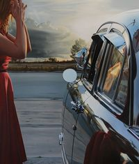 Nashville, Tennessee based artist Brian Tull uses both oil and acrylic paint to create photorealistic images that embody a tone of wistfulness, nostalgia, and e