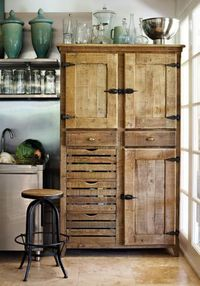 Adding a cabinet to the kitchen instead of having custom cabinets and countertops installed saves $$$!