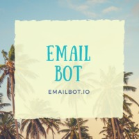 Email Bot makes Email Marketing an easy venture for all its users. Developed on extensive usage of AI, it is among the most efficient Email Sending platform available which executes automated tracking, sending reports, delivery reports and click reports. ...