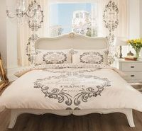 Brandstock24 SCRIPT PARIS DOUBLE SIZE DUVET COVER BEDDING SET - CREAM No description (Barcode EAN = 5051346080961). http://www.comparestoreprices.co.uk//brandstock24-script-paris-double-size-duvet-cover-bedding-set--cream.asp