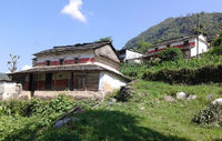 Local house along the way to Annapurna Base Camp .