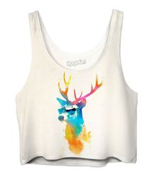 Sunny stag Crop Top $42.00