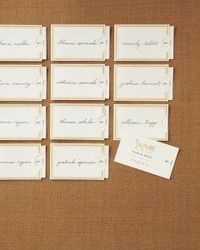 Vintage-Style Escort-Card Template and How-To
