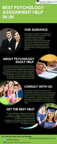 Best Psychology Assignment Help in UK