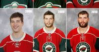Ah, NHL training camps. A time for happy reunions, rigorous fitness tests and awkward publicity photos that make your high-school yearbook headshot seem like an