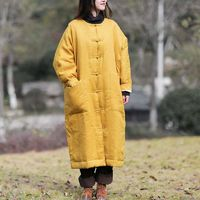 WINTER PADDED CLOTHES FOR WOMEN, OVERSIZED JACKET WOMEN, YELLOW WINTER OUTERWEAR, WOMEN'S CLOTHING, OVERSIZED JACKET VINTAGE