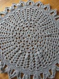 Round 'n' Round Rug-free crochet pattern from Knit and Crochet Now-register or sign in for link to download pattern