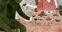 Illustration by Yelena Bryksenkova from the book; Fairy Tale Food: Enchanting Recipes to Bring a Little Magic To Your Food.