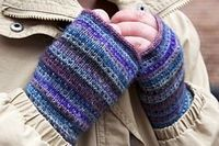 Modicum Mitts (great way to use up bits of TML)