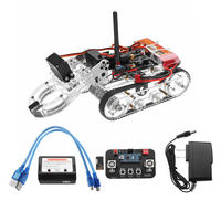 DIY Arduino Programmable Smart RC Robot Arm Tank Educational Kit