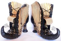 Seeing Things: Steampunk Witch Boots