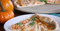 Pumpkin Thai Chicken Pizza from Seaweed & Sassafras