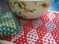 Linoleum Dishcloth