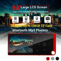8GB 2.4 inch bluetooth MP3 Player 100 hours Music Time Recording FM Radio Video Player
