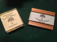 2 Bars Of Orange Bergamot Natural Soap Bar Plus Cedar Soap Saver Free Gift Bag $8.95