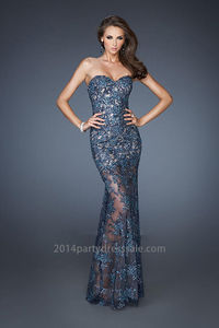 Cheap Strapless Lace Teal Floor Length Prom Dresses http://www.2014partydresssale.com/cheap-strapless-lace-teal-floor-length-prom-dresses-p-71.html