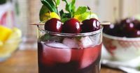 The Walking Dead Cocktail: Black Cherry Rum Zombies