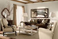 Ethan Allen Furniture/Vintage Lifestyles ... I like this room ... but ... I could find a better equestrian print and better sofa pillows ... otherwise: yes!!!