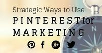 Pinterest marketing has proven to be very smart for bloggers, small businesses, and brands. Learn how to be strategic and grow your Pinterest account.