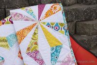 Looking for your next project? You're going to love Kaleidoscope Quilt Pattern by designer Cynthia Muir.