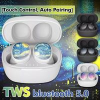 TWS Wireless bluetooth 5.0 Earphone Touch Control Auto Pairing IPX6 Waterproof Stereo Headphone with Charging Box