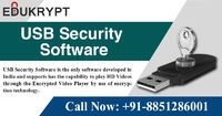 Edukrypt provides Pen Drive, USB Security Software to protect your important lectures, videos & tutorials at the best market prices. It is an upgradable software which run on different versions of windows and android app. For more details Call +91-885...