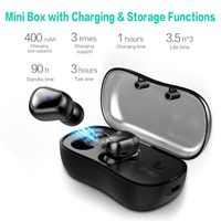 [Bluetooth 5.0] SYLLABLE D900P TWS True Wireless Earphone Stereo Bass Headphone with Dual Mic