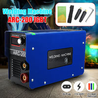220V Portable ARC-200IGBT Electric Welding Machine Semi Automatic Inverter Weld Tools Kit