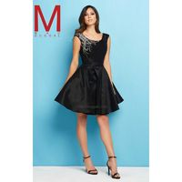 Black Flash 65271L - Cap Sleeves Short Dress - Customize Your Prom Dress