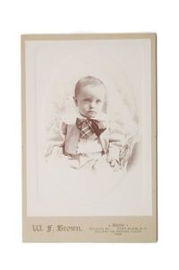 Victorian Baby Antique Cabinet Photo of a Baby Boy. Vintage Photography Child Victorian Fashion Antique Photograph CC#10010 $12.00