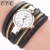 CCQ Women Fashion Casual Analog Quartz Women Watch Bracelet Watch $6.70