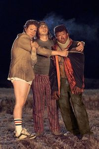 Pineapple Express. also me and my two best friends.