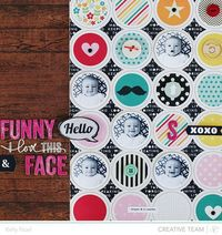 Try your hand at circles with this week's Studio Calico Weekly Challenge with Kelly Noel