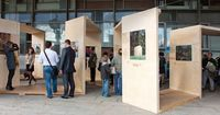 Archiwood exhibition by на�'а�ˆа �ˆенд�€ик, via Behance