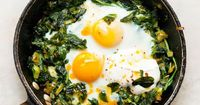 """American and British cooks don't know how far you can take an egg dish,"" chef Yotam Ottolenghi says. Here, he deftly elevates it to a different realm by flavor"