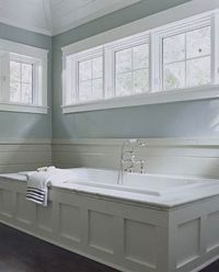 Find ideas for creating a built-in bathtub retreat.