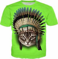 ROTS CHIEF CAT Men's T-Shirt $65.00
