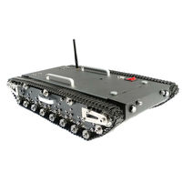 Upgraded WT-500S Smart RC Tracked Tank RC Robot Car Base Chassis
