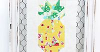 Ooooohhh! What a darling pineapple block tutorial from Red Brolly.